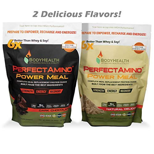 BodyHealth Meal Shake 100% Organic, Powder Oil, High Nutrition, Weight Loss & Health,