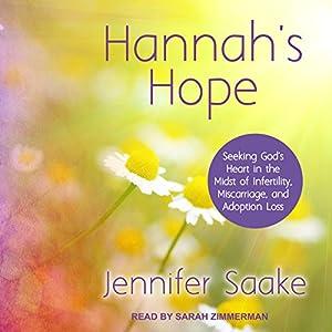Hannah's Hope Audiobook