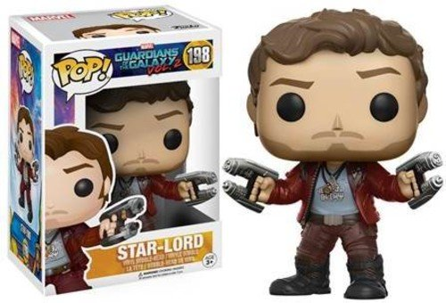 Funko - Star Lord figura de vinilo, coleccion de POP, seria Guardians of the Galaxy 2 (12784), 1 unidad, modelo sur