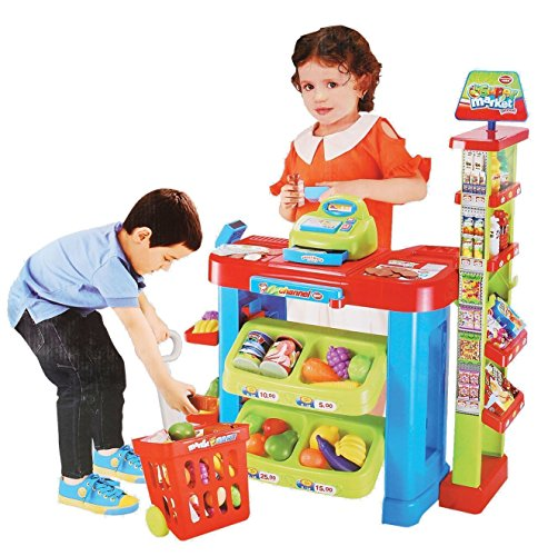 reen Kitchen Supermarket Play Set ()