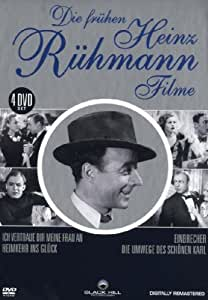 Die frühen Heinz Rühmann Filme - 4 DVD Box [Alemania]