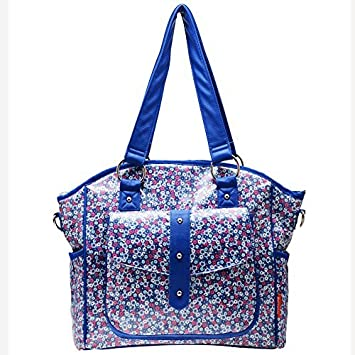 Amazon.com : Diseñador de asas de la bolsa de pañales, Azul ...