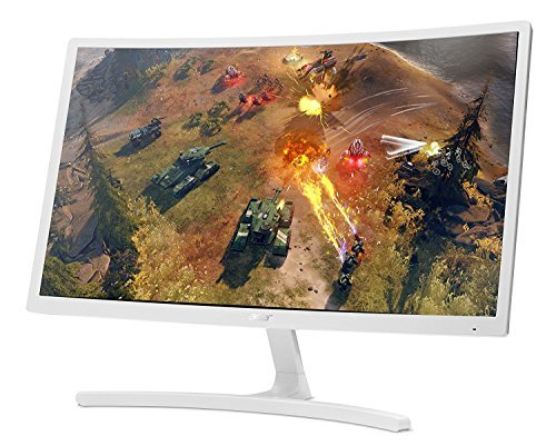2018 Newest Premium Acer 24' Full HD (1920 x 1080) Curved Widescreen LCD Gaming Monitor- AMD FreeSync Technology, 4ms Response Time, 16.7 Million Colors, HDMI, VGA - (Include HDMI & VGA Cables)