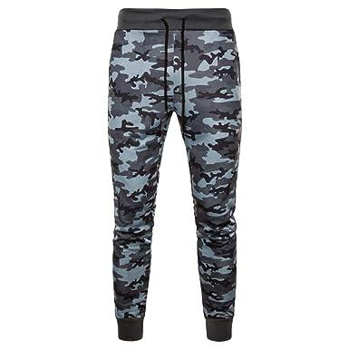 HaiDean Pantalones De Camuflaje De Hombres Slim Los Stretch Fit ...