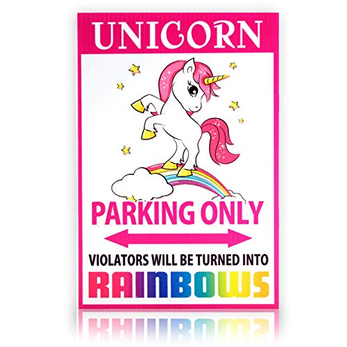 Bigtime Signs Unicorn Parking Only Sign | 8
