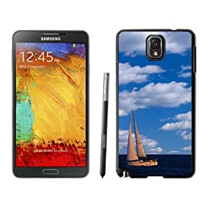 Chicago Yacht Hard Plastic Samsung Galaxy Note 3 Protective Phone Case