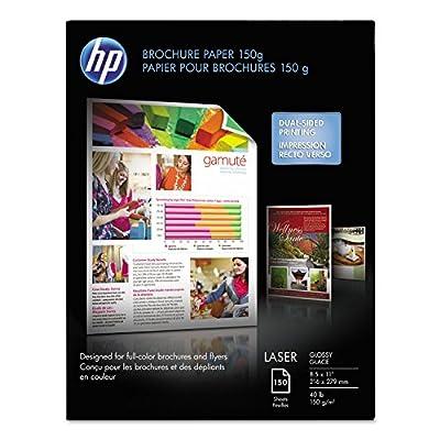 HP Consumables Q6611A Laser Glossy Brochure Paper (Q6611A)