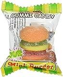 Sour Gummy Burger - Mini Gummi Hamburger 60 pieces