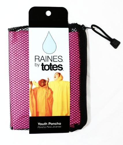 Totes Unisex Rain Poncho