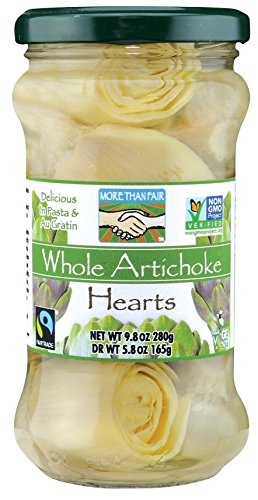 More Than Fair Whole Artichoke Hearts, 9.8 - Com Policy Return Glasses