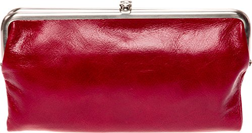 Hobo Womens Lauren Vintage Wallet Clutch Purse (Cardinal) by HOBO