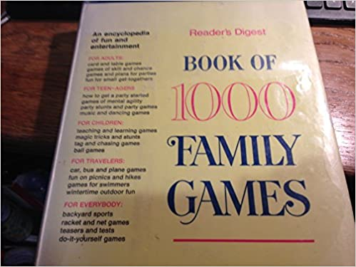 Book of 1000 family games readers digest amazon books solutioingenieria Choice Image