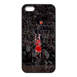 Michael Jordan Custom Cover Case for Iphone 5,5S,diy phone case ygtg-353124