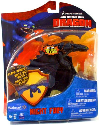 How To Train Your Dragon Movie Deluxe 7 Inch Action Figure Night Fury Toothless