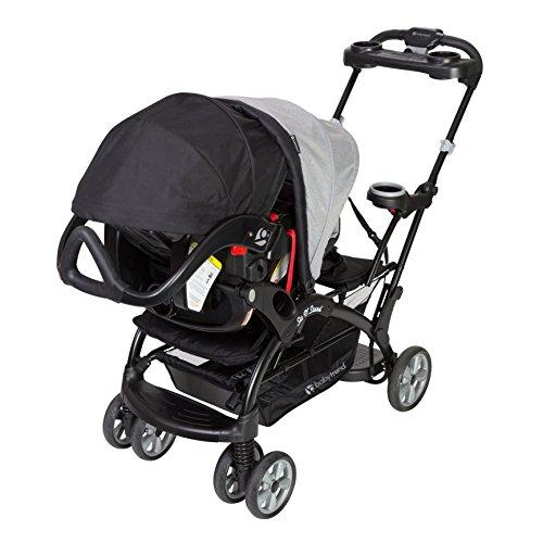 51OL%2BwGH3OL - Baby Trend Sit N Stand Ultra Stroller, Morning Mist