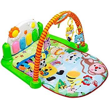 Amazon Com Infantino Grow With Me Activity Gym And Ball