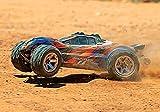 Traxxas Rustler 4x4 VXL, RC Truck, 65+ mph, Red