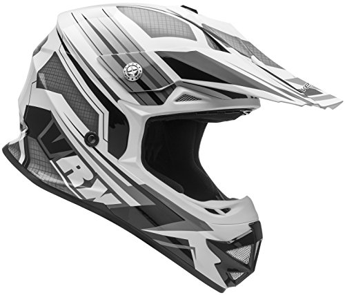 Vega Helmets VRX Advanced Off Road Motocross Dirt Bike Helmet (Black Venom Graphic, X-Large) by Vega Helmets