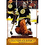 Gerry Cheevers Hockey Card 2004-05 UD Legends Classics #23 Gerry Cheevers