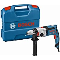 Bosch Professional Klopboormachine GSB 24-2 (1100 W, Max. Torque: 40/14,5 Min-1, In L-Geval), Blauw