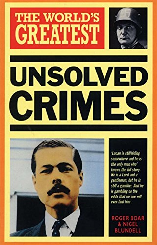 Read Online World's Greatest Unsolved Crimes pdf epub