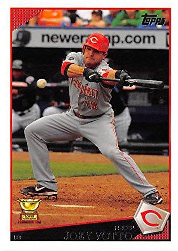 Joey Votto Baseball Card Cincinnati Reds 1b 2009 Topps 390 All