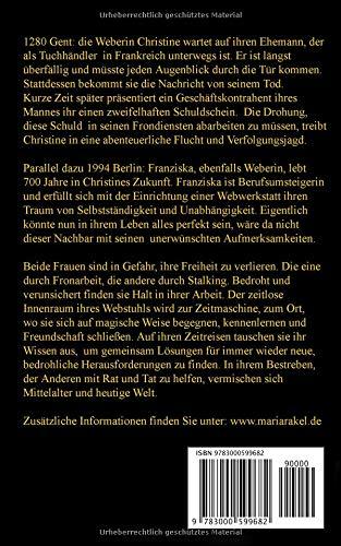 Das Gewicht der Zeiten: Zeitreise Roman: Amazon.co.uk: Maria Rakel ...