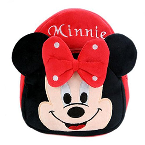 9 Inch Red Minnie Cartoon Design Mini Bag For Babies (Red) … (Red Sea Mini Lab)