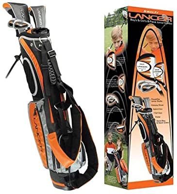 Intech Lancer Junior Golf Set (Age 8-12, Orange)
