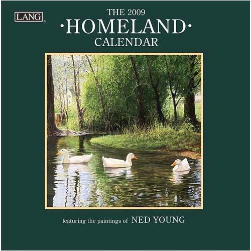Homeland 2009 Small Calendar
