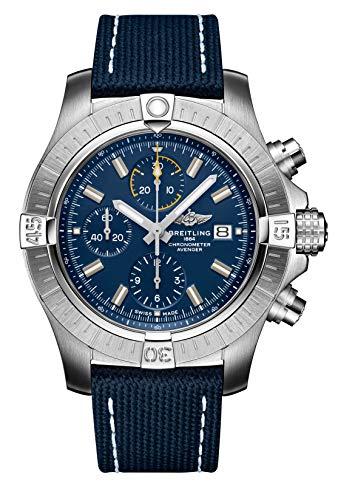 Breitling Avenger Chronograph 45mm Mens Blue Watch