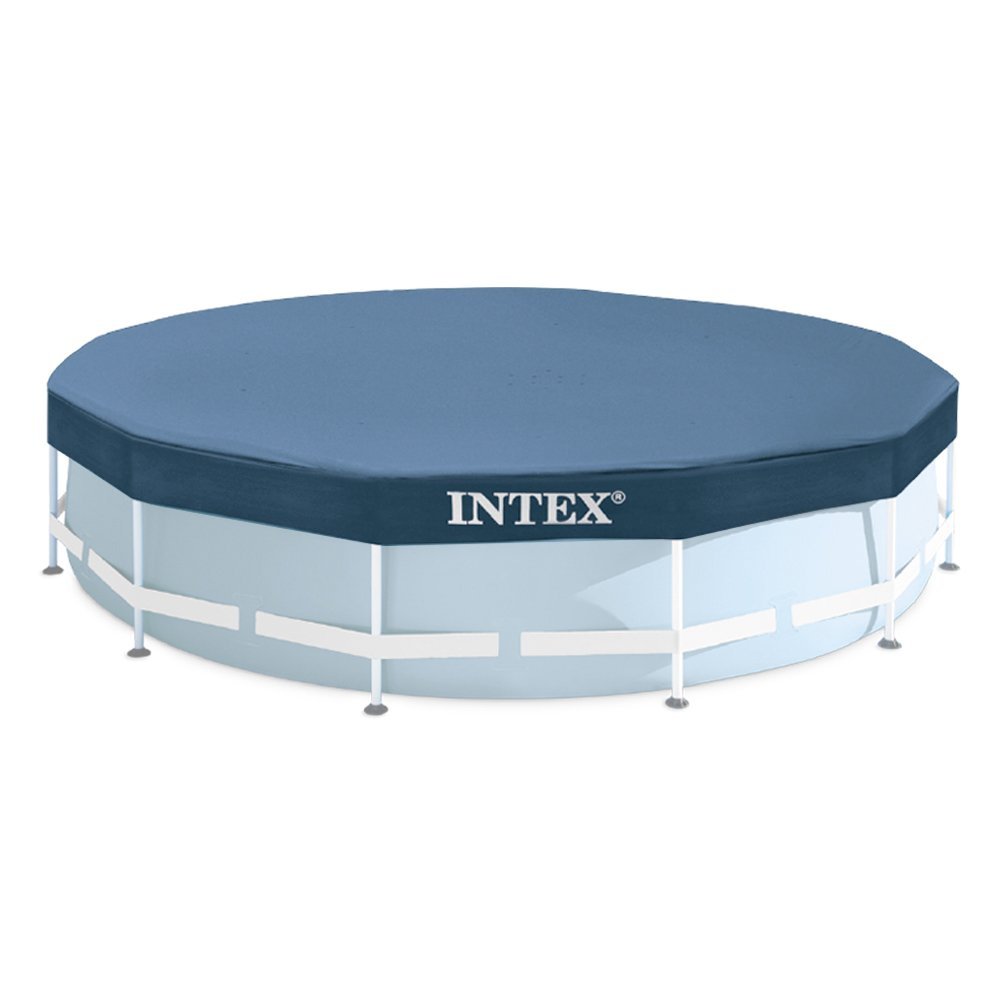 Intex Bâche de protection pour Tubulaire ronde Bleu 305 x 305 x 25 cm 28030 28030E