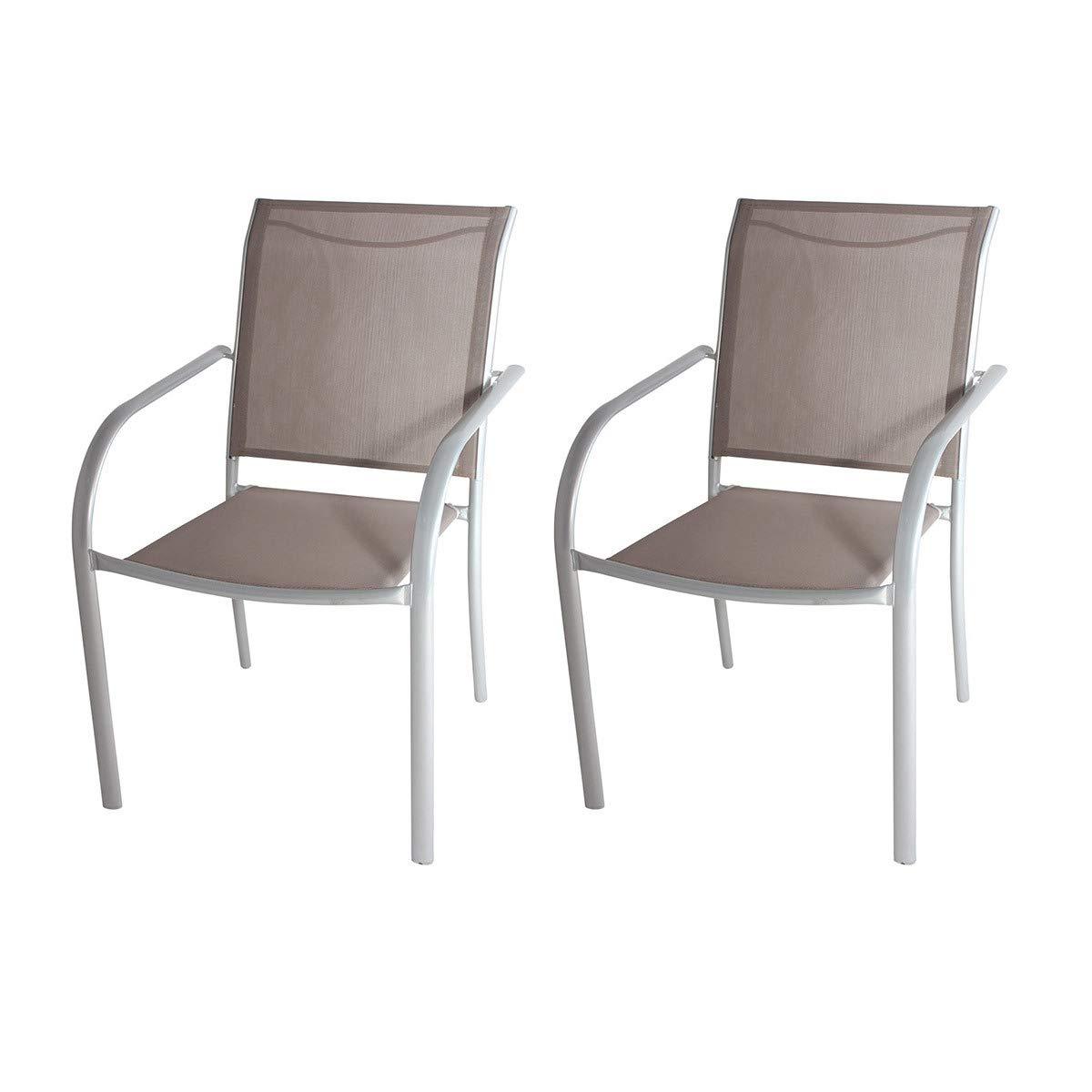 Générique - Juego de 2 sillones Acero Topo (categoría: Silla ...