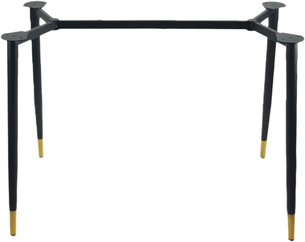 FCXBQ Furniture Support Leg, European-Style Simple Square Detachable Furniture Accessories, Painted Black Non-Slip Table Frame/Table Table Leg/Conference Table Leg/Computer Table Leg