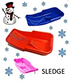 Snow Sledge/ Sled Toboggan (Made In Uk) (BLUE)