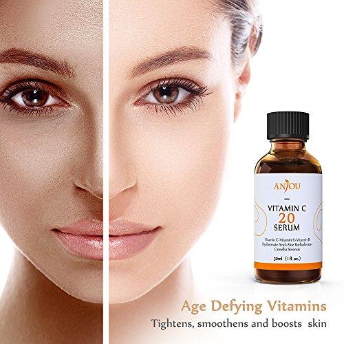 Anjou Vitamin C Serum for Face Organic Vitamin ...