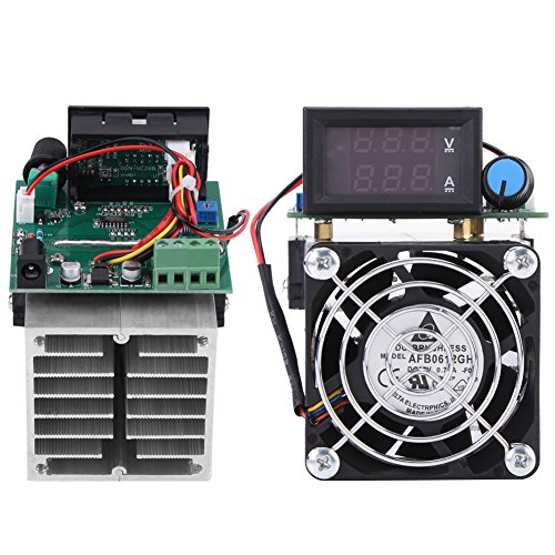 DC 12V Electronic Load Battery Capacity Tester Module 0-10A 100W Intelligent Constant Current Electric Discharge Monitor for Power Bank Capacity Testing
