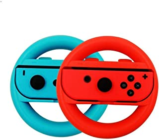product image for Steering Wheel for Nintendo Switch - Pack of 2 - Red & Blue