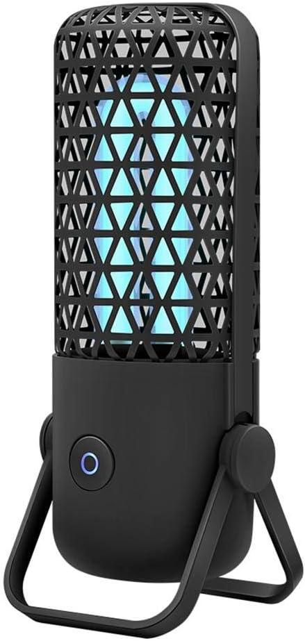 Schwarz dailymall Tragbare UV UVC Lampe Antibakterielle Sterilisator Lichtdesinfektion F/ür Das