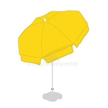1,8 m Patio/jardín/sombrilla de playa paraguas con inclinación, color