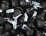 25 Lb Hershey Kisses Best Deals - HERSHEY'S KISSES Candy Black Foiled Milk Chocolate - Bulk Candy (25lb)