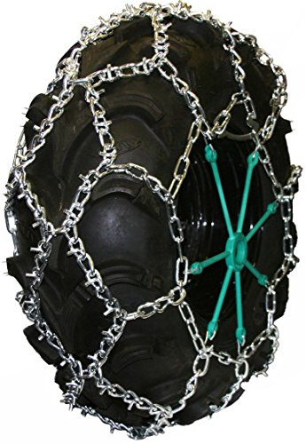 Quality Chain 5.5mm Link U-Grip Diamond Pattern ATV UTV Snow Traction Tire Chains (ATV-DBD) ()