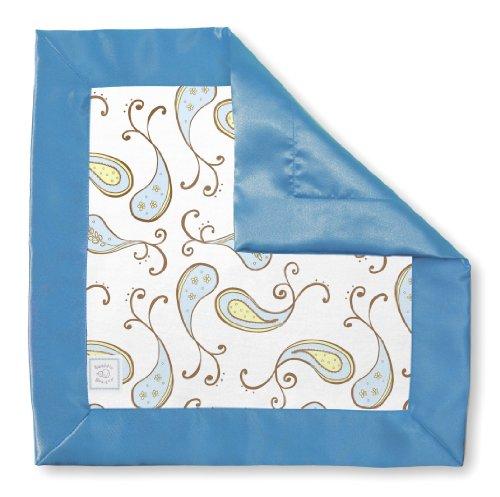SwaddleDesigns Security Blanket Pastel Paisley