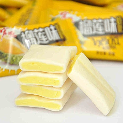 Soft Toffee with Durian Flavor 468g (16.5oz) by lara lee@hy (Image #2)