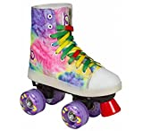 Playlife New Funky Tie-Dye LED Light Up Quad Skates (EU 38 / US 07)
