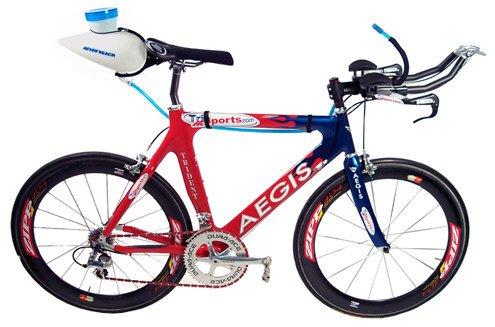 Never Aerodynamic Bottle Hydration System