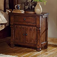 Sunny Designs Santa Fe Nightstand with Drawer