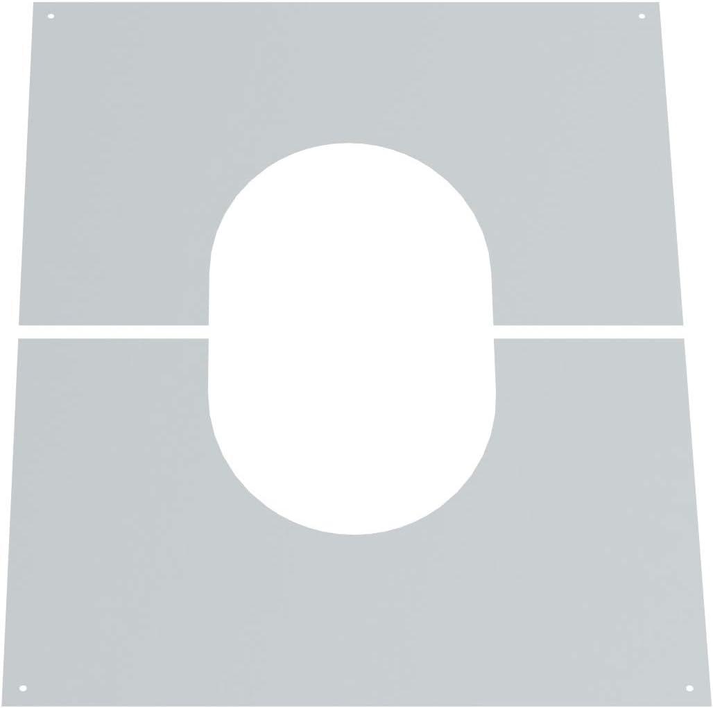 Edelstahlschornstein Schornstein Einzelteil doppelwandig 45/° Winkel /Ø200mm Innendurchmesser 25mm Isolierung f/ür die Erstellung von Schornsteinverz/ügen