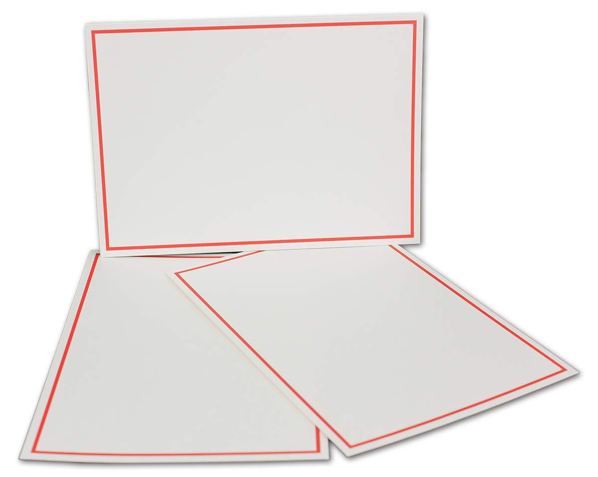 Postkarten-Einfachkarte-DIN A6-240 g m² - Natur-Weiss-Creme mit Rahmen in Hellblau - 200 Stück - Premium QUALITÄT - 10,5 x 14,8 cm - Ideal für Grußkarten und Einladungen - NEUSER FarbenFroh B07JQKTS8J | Qualität und Quantität gar
