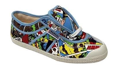 Kawasaki - Zapatillas (talla 41), diseño de cómic: Amazon.es: Zapatos y complementos